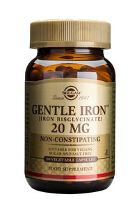 Gentle Iron(TM) 20 mg 90 Vegetable Capsules - Health Emporium
