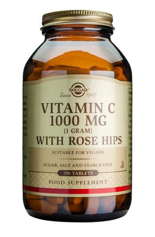 Vitamin C 1000 mg with Rose Hips Tablets - Health Emporium