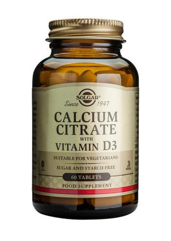 Calcium Citrate with Vitamin D3 Tablets - Health Emporium
