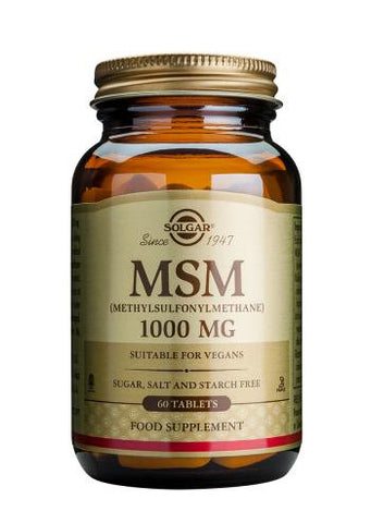 MSM 1000 mg 60 Tablets - Health Emporium