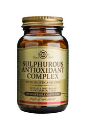 Sulphurous Antioxidant Complex Vegetable Capsules