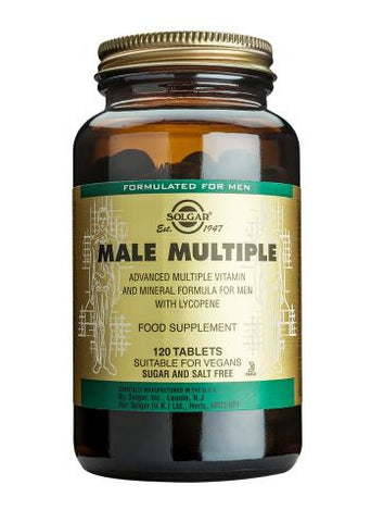 Male Multiple 120 Tablets OUT OF STOCK - Health Emporium