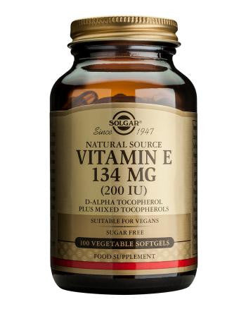 Vitamin E 134 mg (200 IU) Vegetable Softgels - Health Emporium