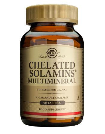Chelated Solamins(R) Multimineral Tablets - Health Emporium