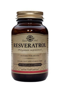 Resveratrol Vegetable Capsules - Health Emporium