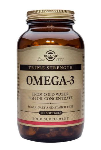 Triple Strength Omega-3 100 Softgels - Health Emporium