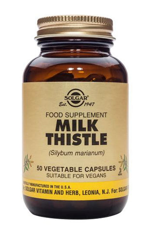 Milk Thistle Vegetable 50 Capsules - Health Emporium