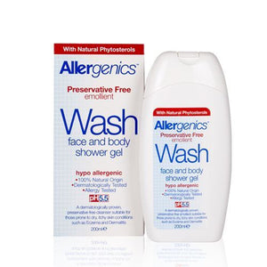 Allergenics® Face and Body Shower Gel - 200ml - Health Emporium