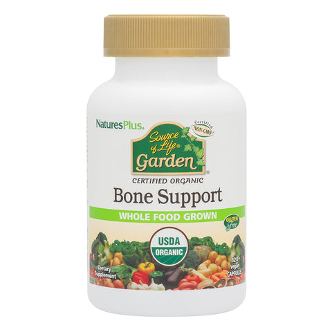 Natures Plus Source of Life Garden Bone Support 120 Vcaps - Health Emporium
