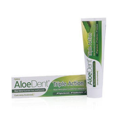 AloeDent® Triple Action fluoride free toothpaste - 100ml