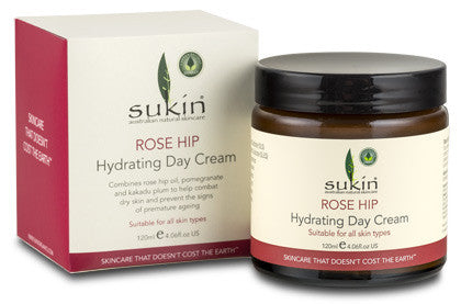 Sukin Rose Hip Hydrating Day Cream (120ml) - Health Emporium