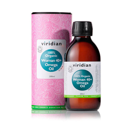 100% Organic Woman 40+ Omega Oil - Health Emporium
