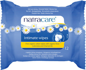 Natracare Organic Cotton Intimate Wipes - Health Emporium