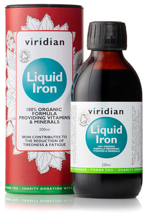 100% Organic Liquid Iron (OUT OF STOCK) - Health Emporium