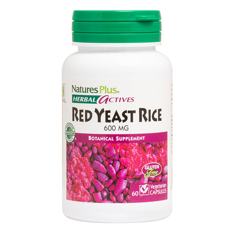 Natures Plus Red Yeast Rice 600MG - Health Emporium