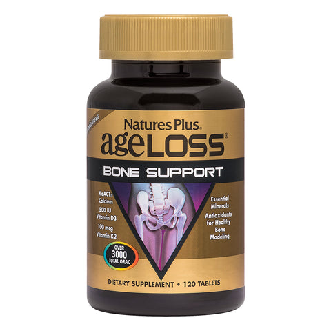 AgeLoss® Bone Support Extended Release 120 Tablets - Health Emporium