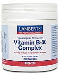 Lamberts® one-a-day Vitamin B-50 Complex - Health Emporium