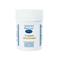 Copper Gluconate 90 Tablets