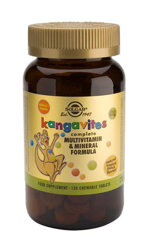 Kangavites(R) Multivitamin & Mineral Chewable Tablets Tropical Punch - Health Emporium