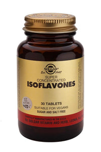 Super Concentrated Isoflavones 30 Tablets - Health Emporium