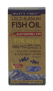 ELEMENTARY EPA KID'S LIQUID (1500MG EPA+DHA PER SERVING), 25 SERVINGS - Health Emporium
