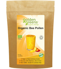 Golden Greens Organic Bee Pollen 100g