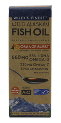 ORANGE BURST LIQUID FISH OIL (660MG EPA+DHA PER TSP)