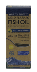PEAK OMEGA-3 LIQUID FISH OIL (2150MG EPA+DHA PER SERVING)