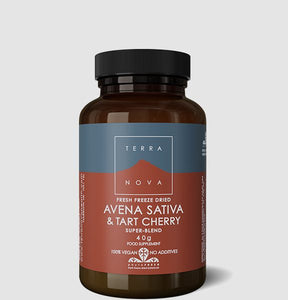 Terranova Avena Sativa & Tart Cherry Super Blend 40g size (Fresh Freeze Dried)