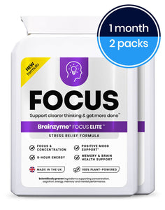Brainzyme Focus Elite - Health Emporium