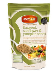 Milled Organic Flaxseed Sunflower & Pumpkin Seeds (425g)