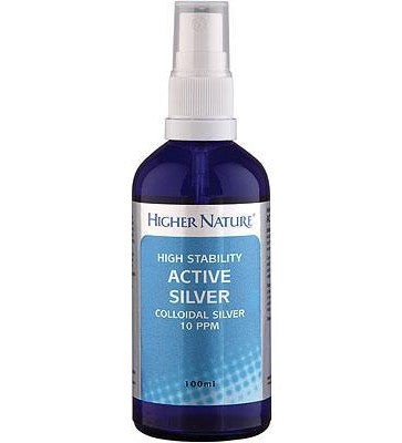 Higher Nature - Colloidal Silver 100ml - Health Emporium