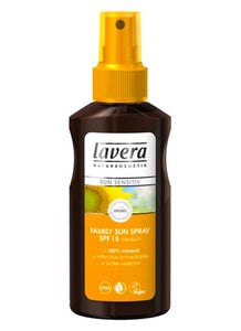 Lavera Family Sun Spray SPF15 - Health Emporium