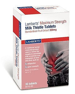 Lamberts Milk Thistle 300mg