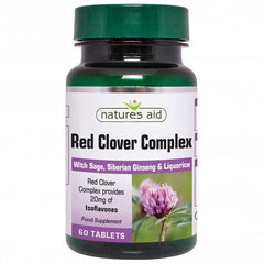 Natures Aid Red Clover & Sage 60's (OUT OF STOCK)