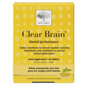 New Nordic Clear Brain - Health Emporium