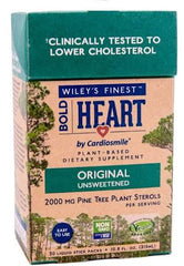 Wileys Finest Bold Heart 2000mg Pine Tree Plant Sterols 30 Liquid Sticks