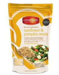 Milled Organic Sunflower & Pumpkin Seeds (425g)