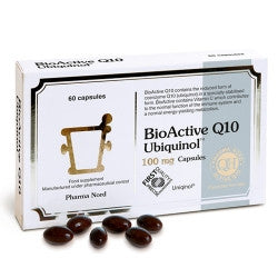 BioActive Q10 Ubiquinol 100mg 60's - Health Emporium