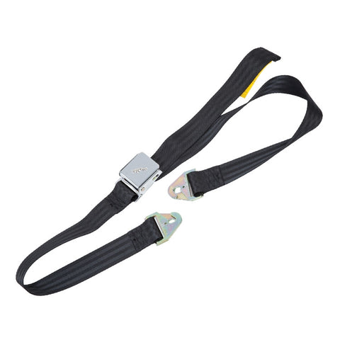 BF2004/1 JAGUAR BLACK 2 POINT FIXING SEAT BELT - E-TYPE S3 V12/XK120/XK140/XK150