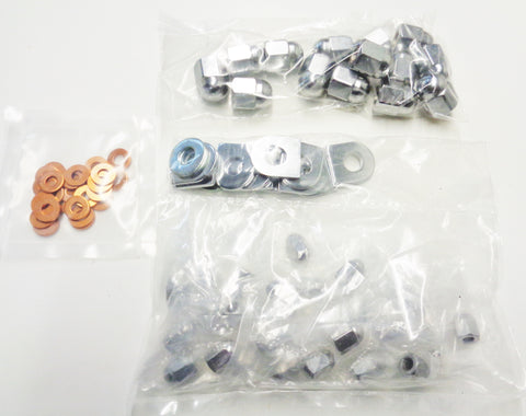 CR1050 ENGINE CHROME HARDWARE KIT E-TYPE S1/S2/MK2/MK10/S-TYPE/XK120/140/150