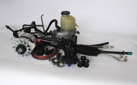 PRESSURE SENSITIVE POWER STEERING CONVERSION XK140/XK150