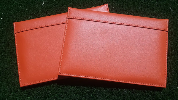 Leather Scorecard wallet