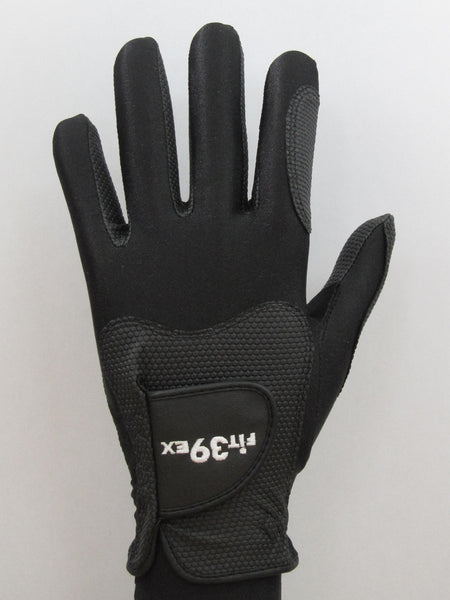 FIT39 Golf Glove - Black/Black