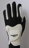 FIT39 Golf Glove - Black/White