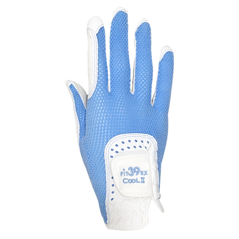 Cool II FIT39 Golf Glove - Light Blue/White Right Hand