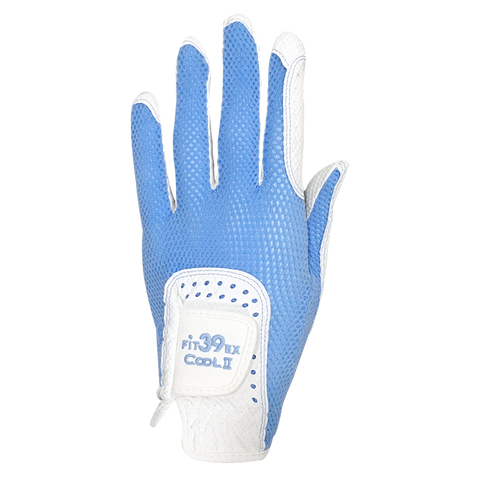 Cool II FIT39 Golf Glove - Light Blue/White