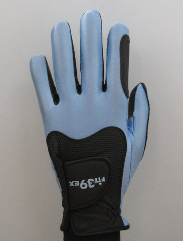 FIT39 Golf Glove - Blue/Black