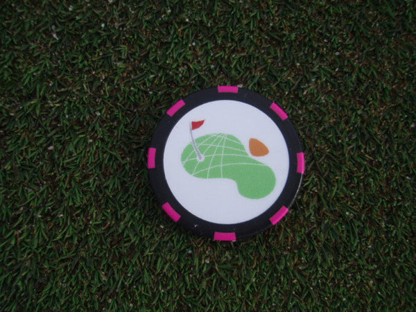 Logo Chip ball markers