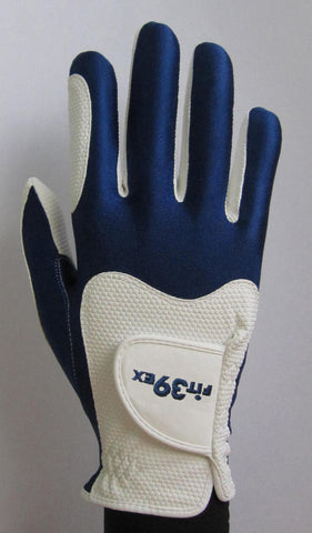 FIT39 Golf Glove - Navy/White (Right-Hand)